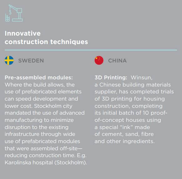 Innovative product techniques from other countries