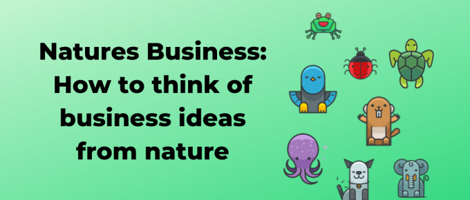How to think of business ideas from nature