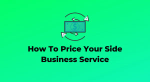 Pricing your service - Website