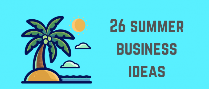 Summer Business Ideas