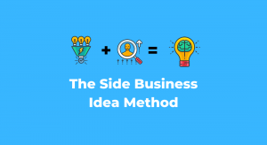 Website - the side business idea method and equation