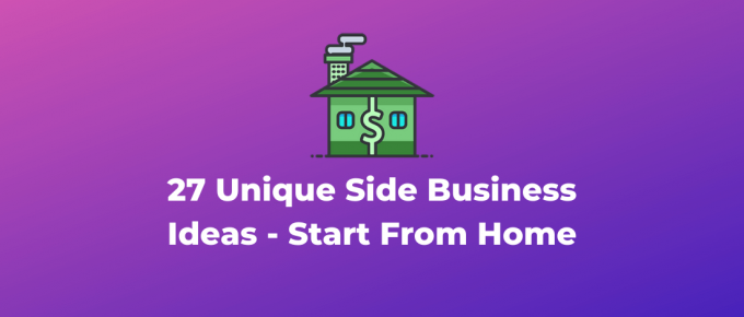 Website - unique home based business ideas